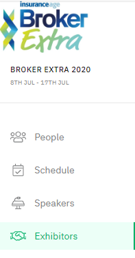 Broker Extra Exhibitors