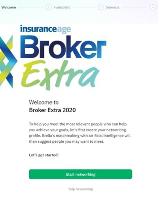 Broker Extra Brella Welcome