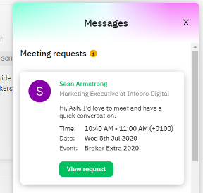 Brella Delegate Meeting Request